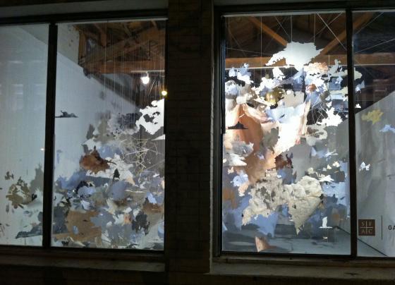 Val Britton, The Continental Interior installation
