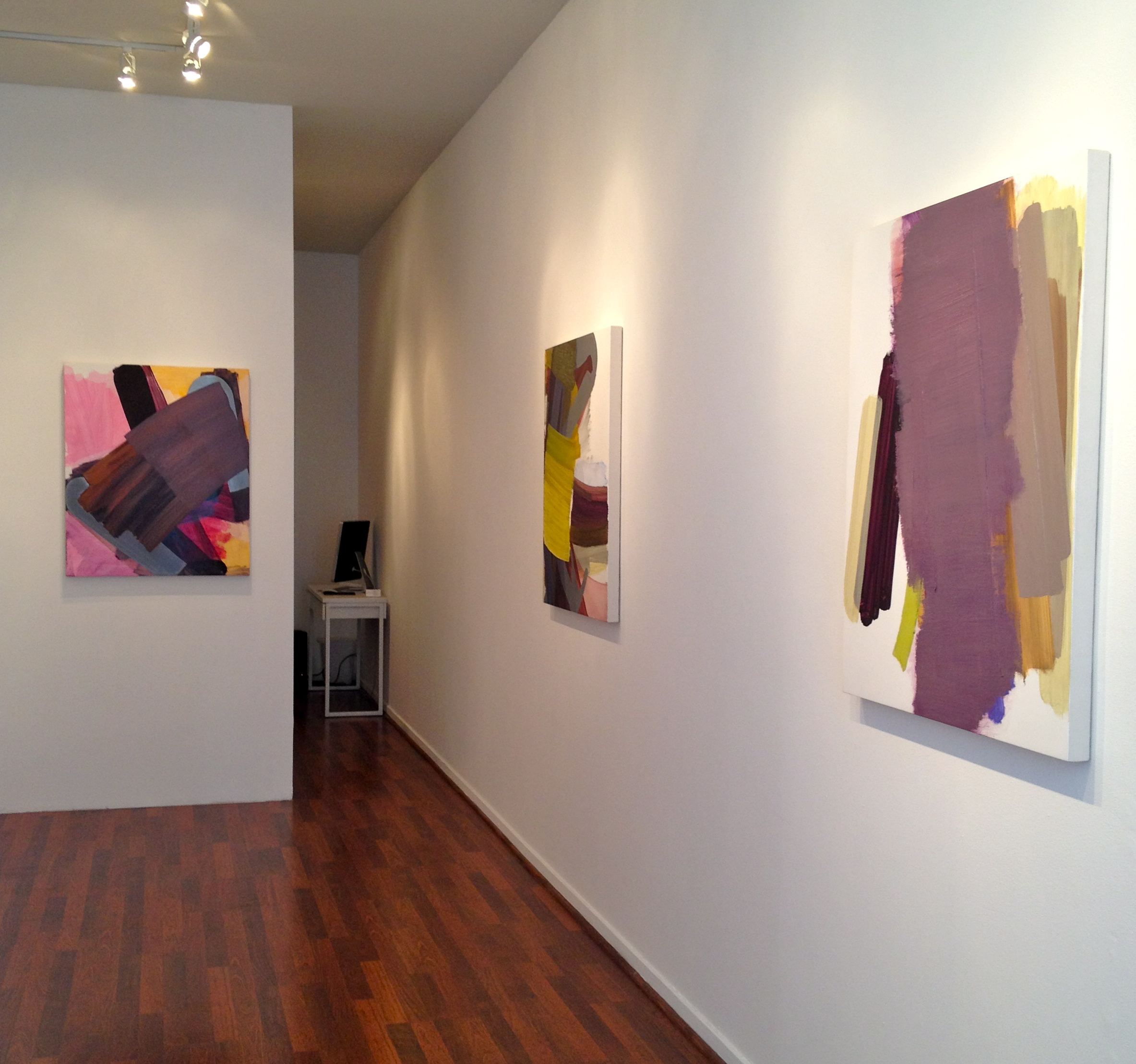 installation view at George Lawson Gallery