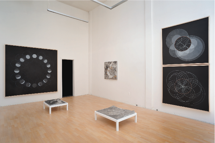 Installation view at Jessica Silverman Gallery