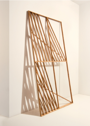 """Andy Vogt, """"Shadeshape 3"""" made from salvaged wood.  source: www.eliridgway.com"""