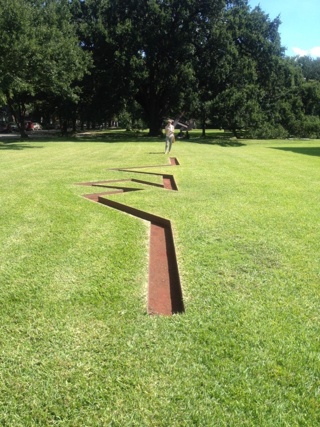 Michael Heizer at The Menil Collection