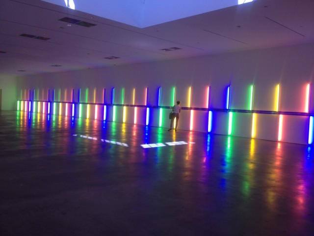 Dan Flavin at The Menil Collection