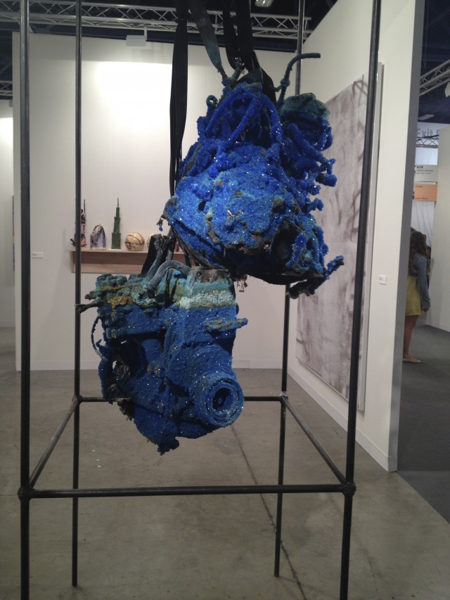 Roger Hiorns at Luhring Augustine