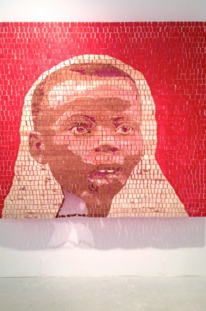 Aime Mpane at Haines Gallery