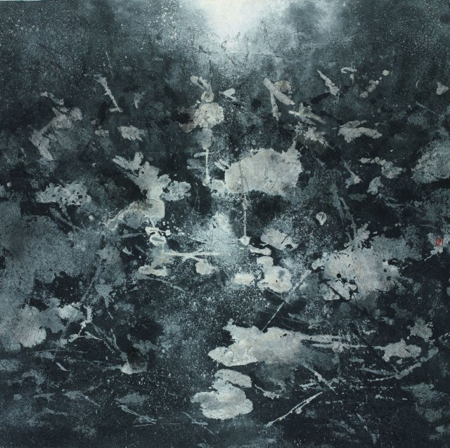 Lu Chuntao, 'Hawthorn'  2014, ink painting.  Courtesy of