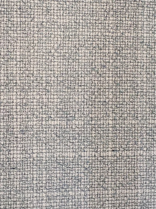Lisa Espenmiller, (chant drawing detail), ink on paper
