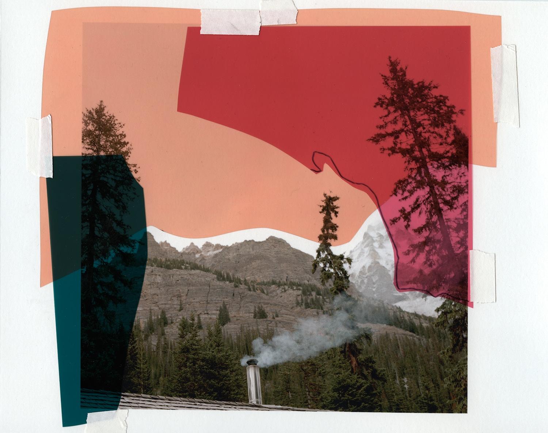 Katie Shapiro, Untitled, mixed media collage