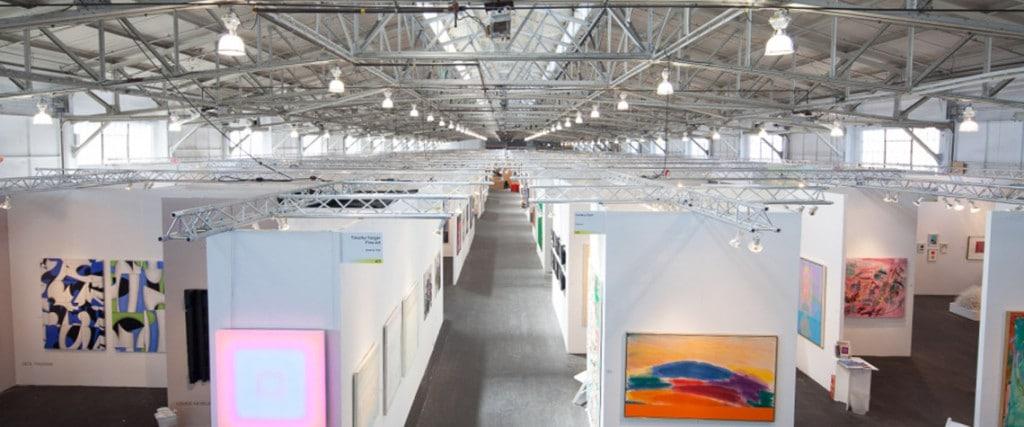 Interior image of Art Market SF, 2014