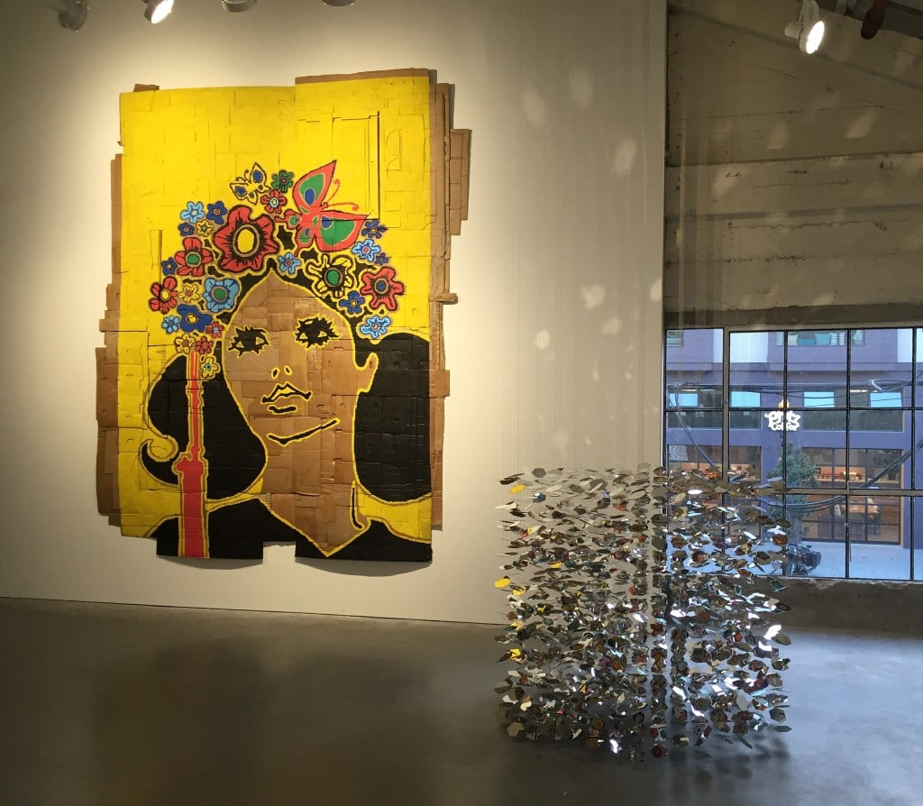 """Andrea Bowers """" and Pae White """" on view at Minnesota Street Project"""