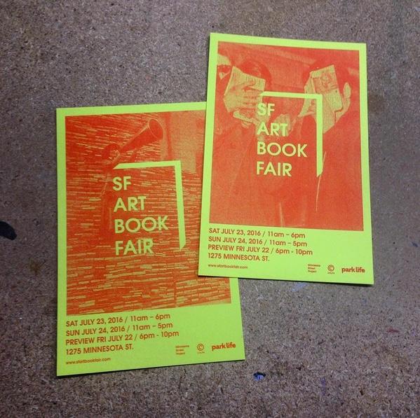 Image Courtesy of SF Art Book Fair