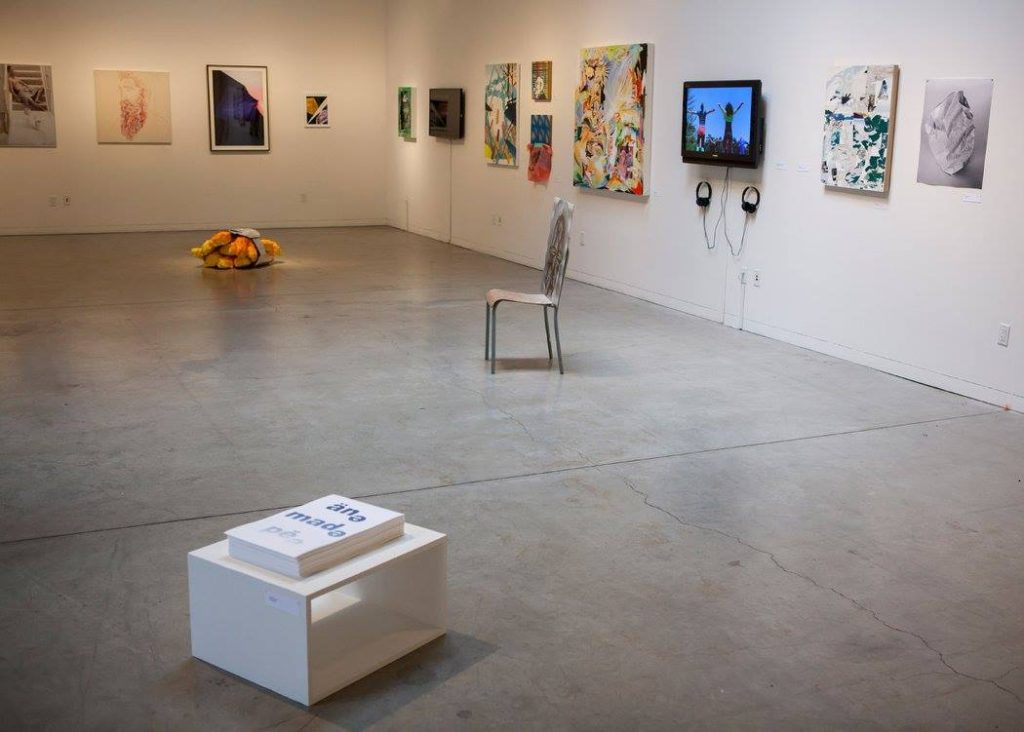 Installation shot from the 2015 juried exhibition. Image courtesy of Southern Exposure.